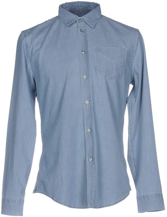 Bikkembergs Denim shirts - Item 42590737