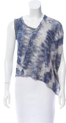 Yigal Azrouel Printed Knit Top