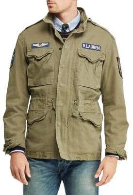 Polo Ralph Lauren Cotton Twill Field Jacket