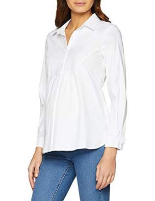 GeBe Women's Bow Maternity Blouse,(Size: L)