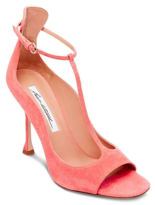 Brian Atwood Women's Samantha T-Strap High-Heel Sandals