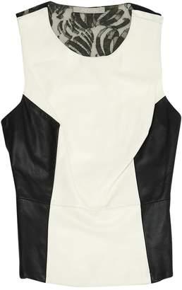 Jason Wu White Leather Tops