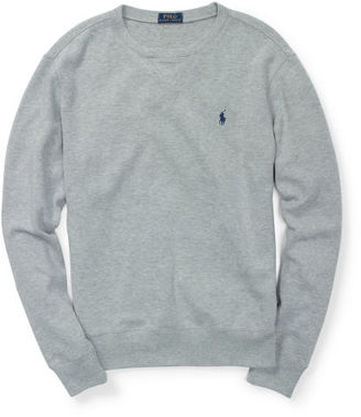 Polo Ralph Lauren French-Rib Cotton Pullover $98.50 thestylecure.com