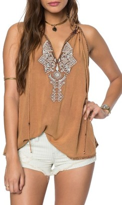 Women's O'Neill Rami Embroidered Tank $44 thestylecure.com