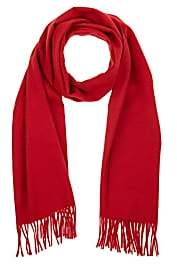 Barneys New York MEN'S FRINGED ANGORA-BLEND SCARF