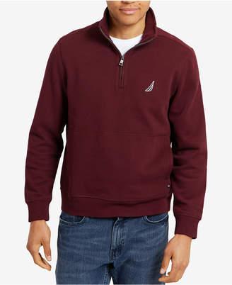 Nautica Men Quarter-Zip Fleece Pullover
