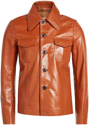 Maison Margiela Vintage Hunter Leather Jacket