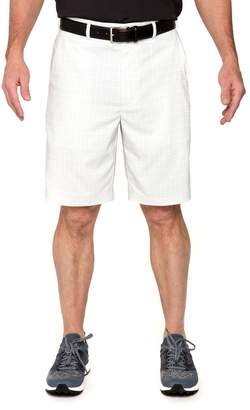 Equipment Men's Pebble Beach Classic-Fit Plaid Marled Performance Tech Shorts