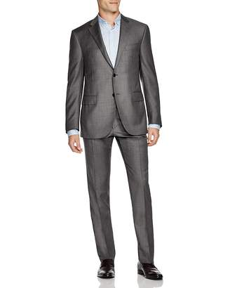 Corneliani Academy Regular Fit Sharkskin Suit