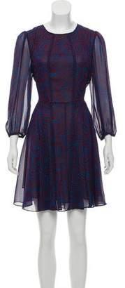 Derek Lam Chiffon A-Line Dress