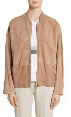 Fabiana Filippi Beaded Suede Jacket