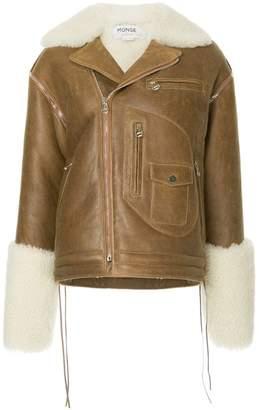Monse contrast boxy jacket