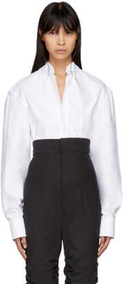 Jacquemus White La Chemise Pinces Shirt