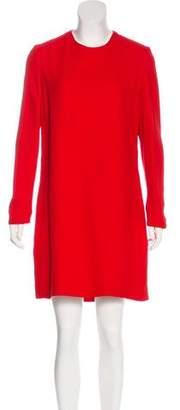 Victoria Beckham Long Sleeve Mini Dress