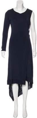Antonio Berardi Asymmetrical Maxi Dress w/ Tags