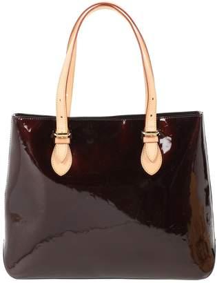 Louis Vuitton Houston Burgundy Patent leather Handbag