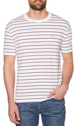 Original Penguin Striped Jaspe T-Shirt