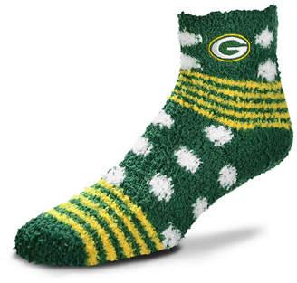 For Bare Feet Green Bay Packers Homegater Sleep Soft Socks