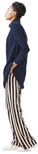 Women's Topshop Grunge Funnel Neck Sweater Dress 3