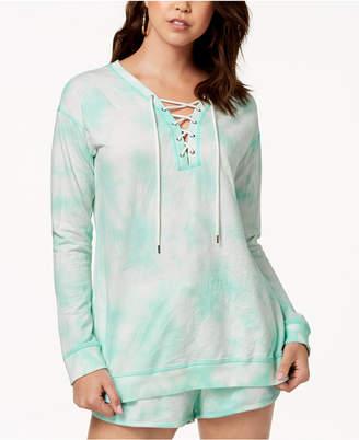 Jessica Simpson TheWarmUp Juniors' Tie-Dyed Sweatshirt