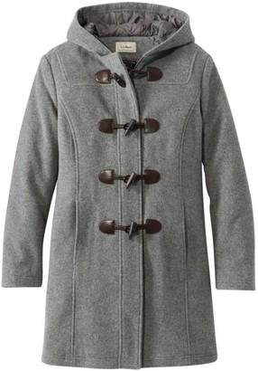 L.L. Bean L.L.Bean Women's Classic Lambswool Duffel Coat
