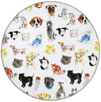 Hiccups Pet Life Cotton Play Mat