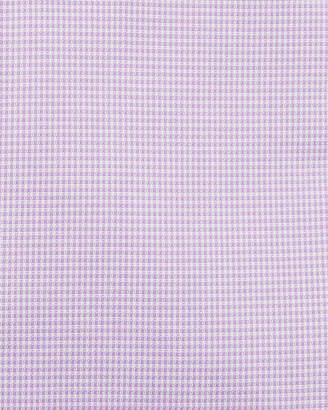 Neiman Marcus Men's Trim-Fit Regular-Finish Texture Solid Dress Shirt