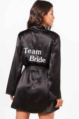 boohoo Team Bride Robe
