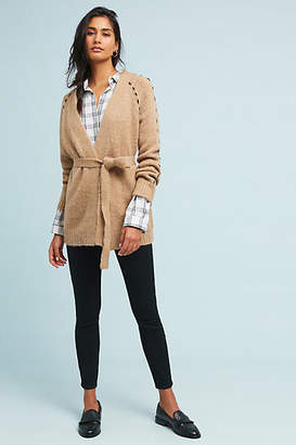 Moon River Civita Belted Cardigan