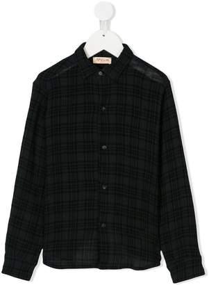 Amelia Milano tartan patterned shirt