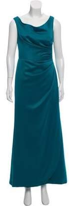 Lela Rose Satin Evening Dress