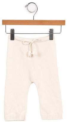 Baby CZ Girls' Cashmere Knit Bottoms