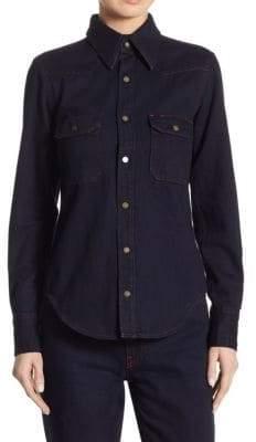 Calvin Klein Denim Button Front Shirt