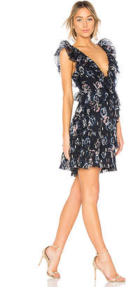 Rebecca Taylor Faded Floral Dress