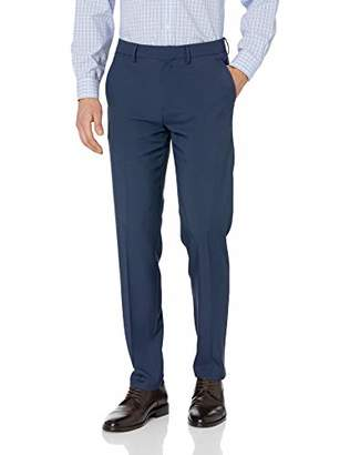 Perry Ellis Men's Standard Linen Suit Pant