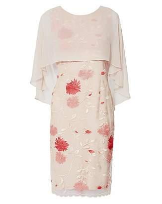 Gina Bacconi Etta Embroidered Dress