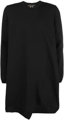 Comme des Garcons asymmetric long-line sweater