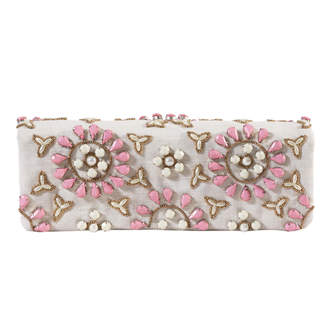 Tiana Designs Tiana Foldover Pink Floral Clutch