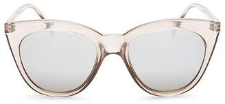 Le Specs Halfmoon Magic Cat Eye Sunglasses, 53mm $59 thestylecure.com