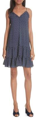 Rebecca Taylor Ikat Dot Tiered Dress