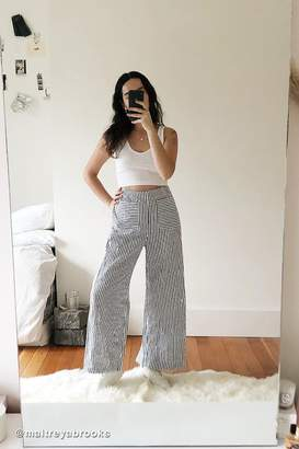 Urban Outfitters Otto Striped Wide Leg Pant