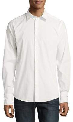 Roberto Cavalli Woven Casual Button-Down Shirt