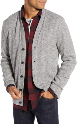 1901 Regular Fit Waffle Knit Cardigan