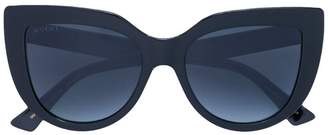 Gucci cat-eye tinted sunglasses