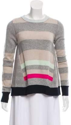 Diane von Furstenberg Striped Cashmere Sweater
