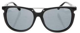 3.1 Phillip Lim Acetate Shield Sunglasses