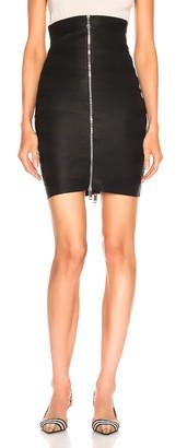 Burberry Bondage Skirt in Black | FWRD