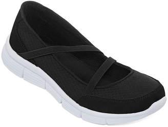 ST. JOHN'S BAY Orla Elastic Strap Slip-On Shoes