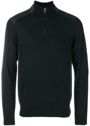 HUGO BOSS quarter zip sweater