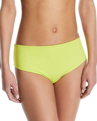 Solid and Striped Isabeli High-Waist Reversible Swim Bikini Bottoms